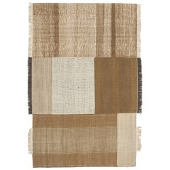 Hand-Loomed Tres Rug in Ochre by Nani Marquina & Elisa Padron, Extra Large