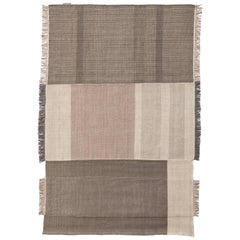 Hand-Loomed Tres Rug in Pearl by Nani Marquina & Elisa Padron, Extra Large