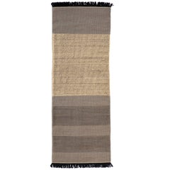 Hand-Loomed Tres Stripes Runner in Blue by Nani Marquina & Elisa Padro