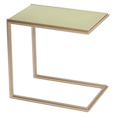 Hand-Made Brass Side Table, by P. Tendercool