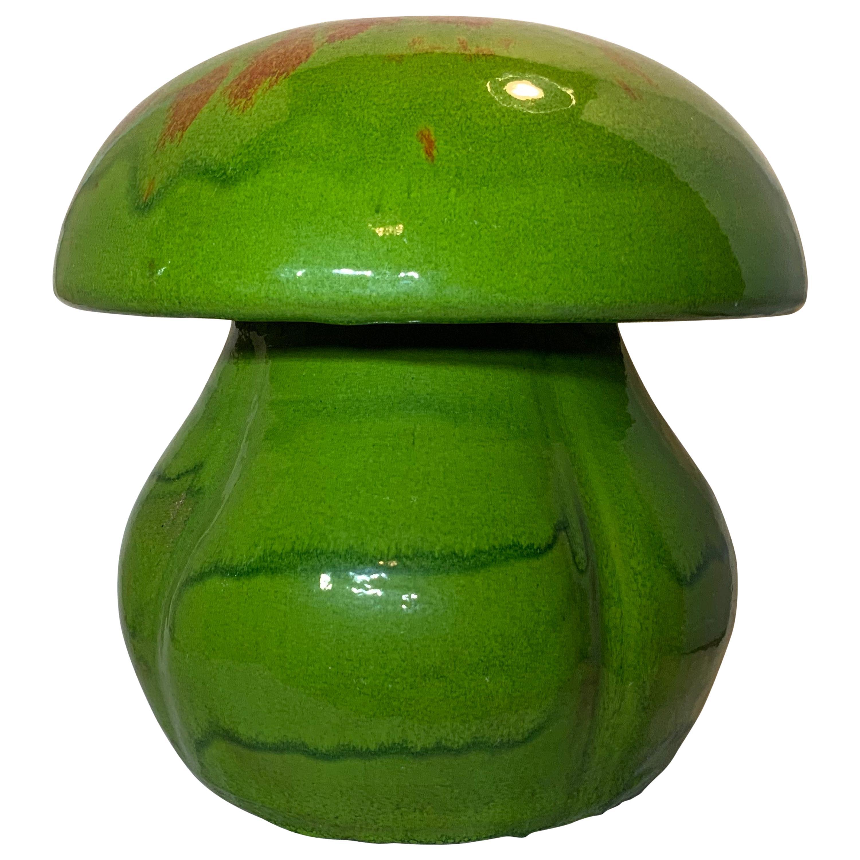 Handmade Center Piece Glazed Ceramic Mushroom