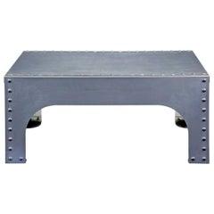 Handmade Industrial Steel Occasional Table