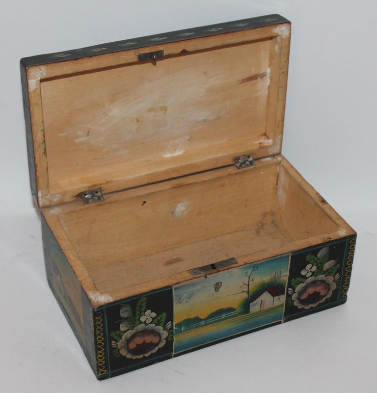 Handmade Mexican Boxes Set of Three For Sale 5