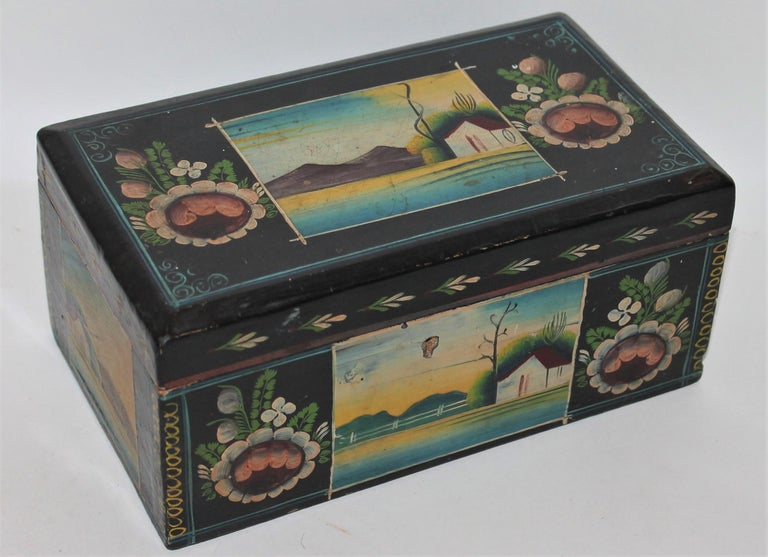 Handmade Mexican Boxes Set of Three For Sale 6