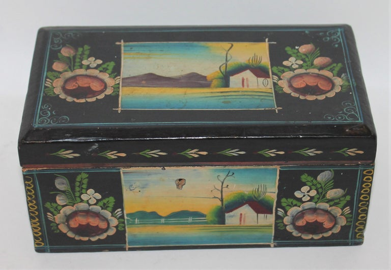 Handmade Mexican Boxes Set of Three For Sale 7