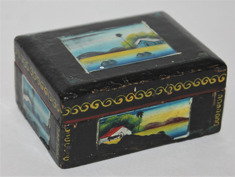 Handmade Mexican Boxes Set of Three For Sale 9