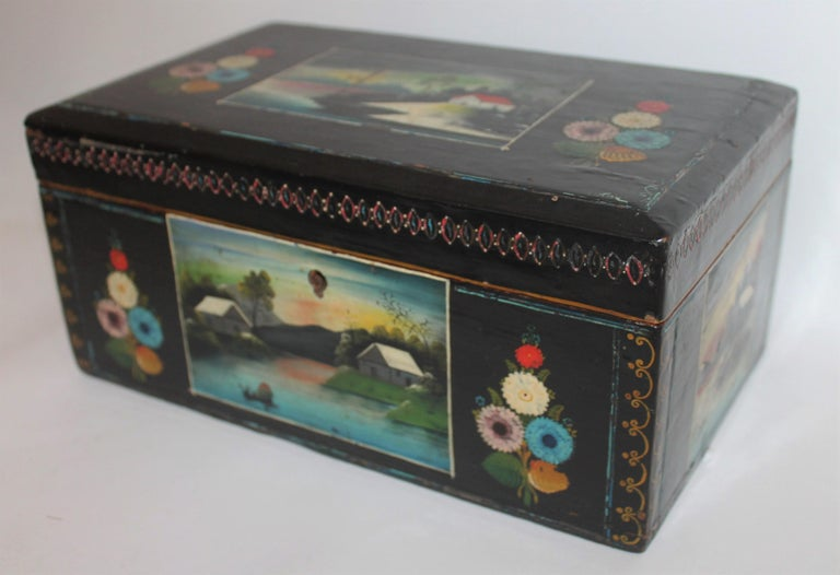 Handmade Mexican Boxes Set of Three For Sale 2