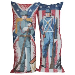Handmade Pillows of Soldiers