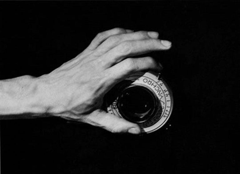 Hand on the camera, Mexico by Leo Matiz