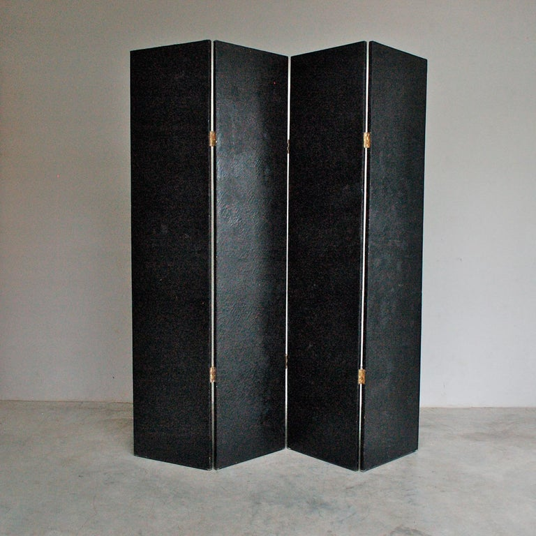 Hand Painted Baroque Style Room Divider, Late 20th Century For Sale 4