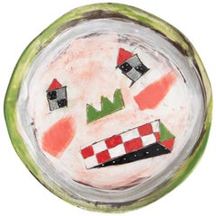 Hand Painted Ceramic Plate Come in Unique Edition