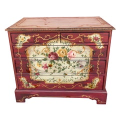 Hand Painted Chest of Drawers by Habersham Plantation