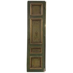 Hand-Painted Double Doors, circa 1900