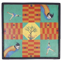 Hand Painted Haitian Game Board