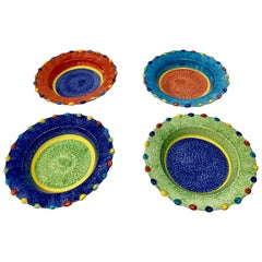 Hand Painted Italian Soup Dishes, Set of 12