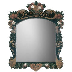 Hand-Painted Mirror