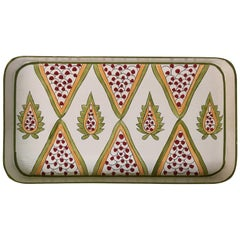 Hand Painted Persian Small Iron Tray