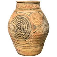Hand Painted Vase, China, Contemporary