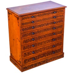 Hand Painted Victorian Chest