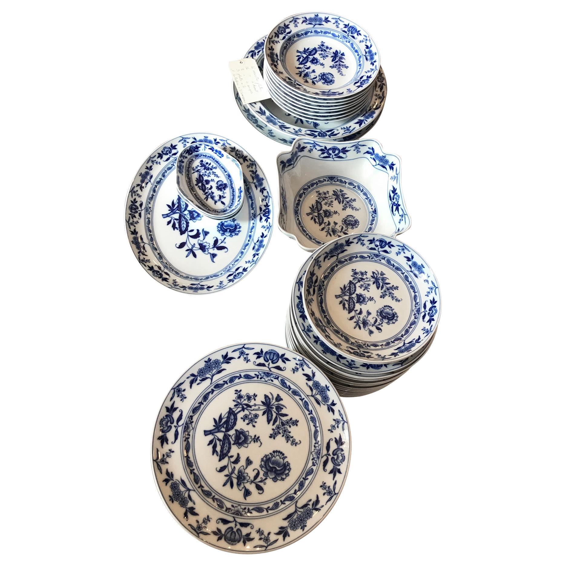 Hand Painted Vista Alegre Porcelain Tableware