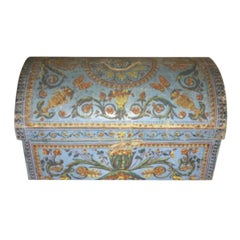 Hand Printed French Wallpaper Box, 18th Century