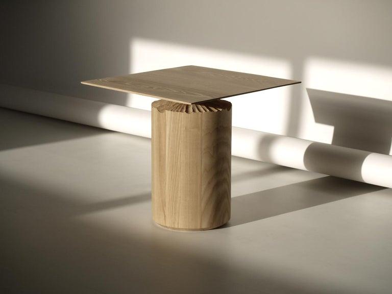 Spanish Hand-Sculpted Ash Table by Sanna Völker For Sale