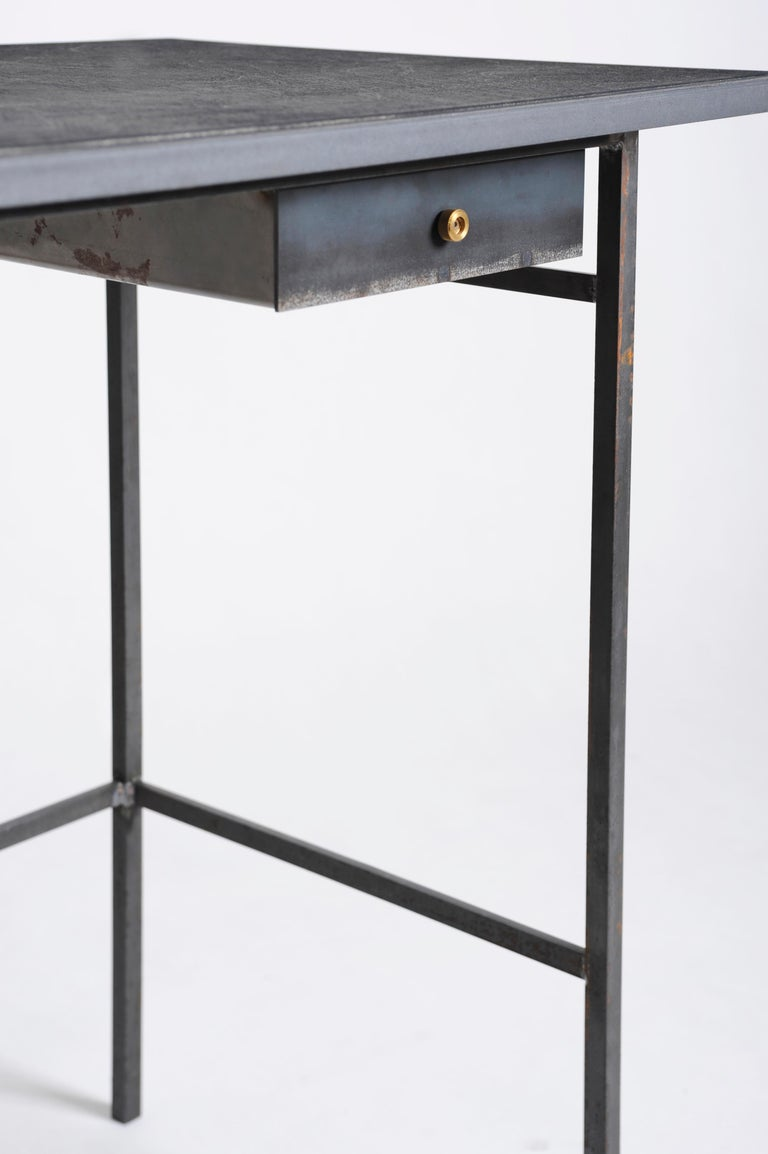 Modern Hand, Sculpted Desk, Signed by Lukas Friedrich For Sale