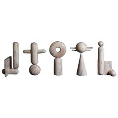 "Hand Sculpted ""Useful/Useless"" Sculptures, Nicholas Hamilton Holmes"