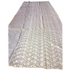 Hand-Sewn French Lace, Needlework, 18th-19th Century
