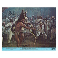 Hand Signed by Roger Moore, Live And Let Die '1973' Postcard