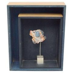 Hand Signed M.Caval Framed Sculpture, 1998