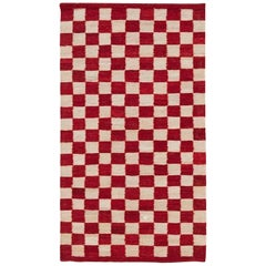 Hand-Spun Nanimarquina Melange Pattern 5 Rug by Sybilla, Extra Small