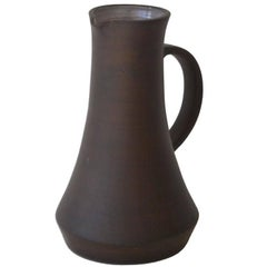 Hand Thrown Ceramic Pitcher