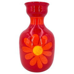 Hand Thrown Italian Ceramic Vase by Berkeley House