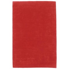 Hand-Tufted Nanimarquina Flying Carpet 1 Rug in Red, Large