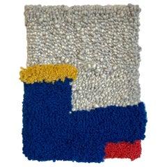 Hand-Tufted Wall Hanging Minimalist Geometric Landscape Tufted Rug