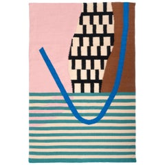 Hand-Woven Arch Rug Geometric Landscape Woven Wall Hanging Tapestry