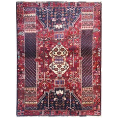 Handwoven Carpet Oriental Tribal Area Rug