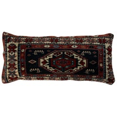 Handwoven Kazak Rug Pillow