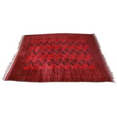 Handwoven Room Size Persian Bokhara Rug