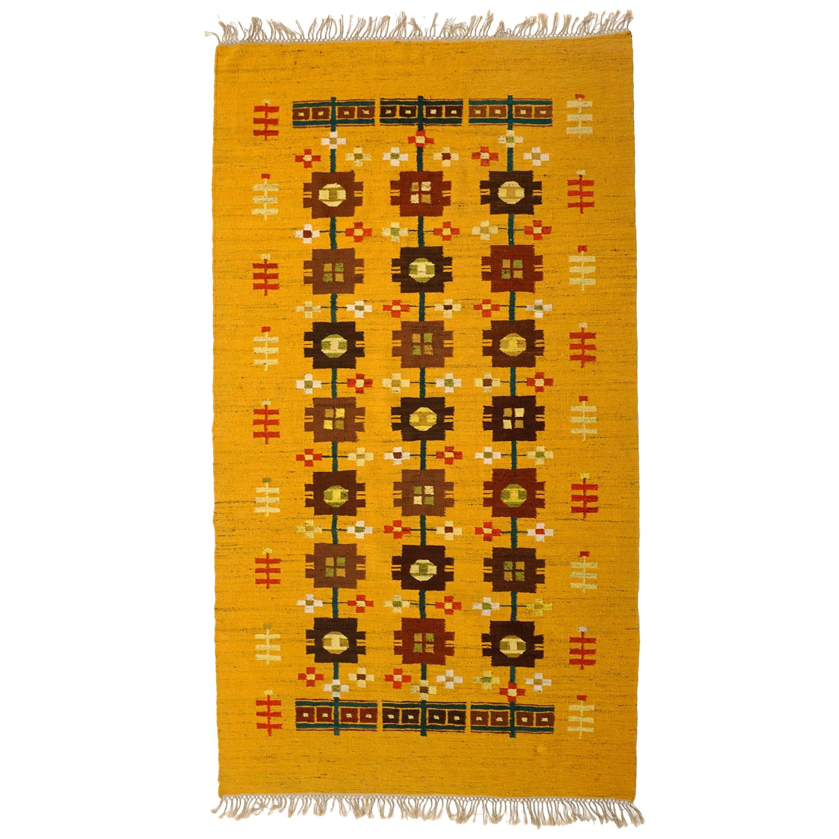Handwoven Rug / Tapestry by Cepelia, Poland