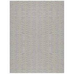 Handwoven Swedish Inspired Wool Flat-Weave Rug