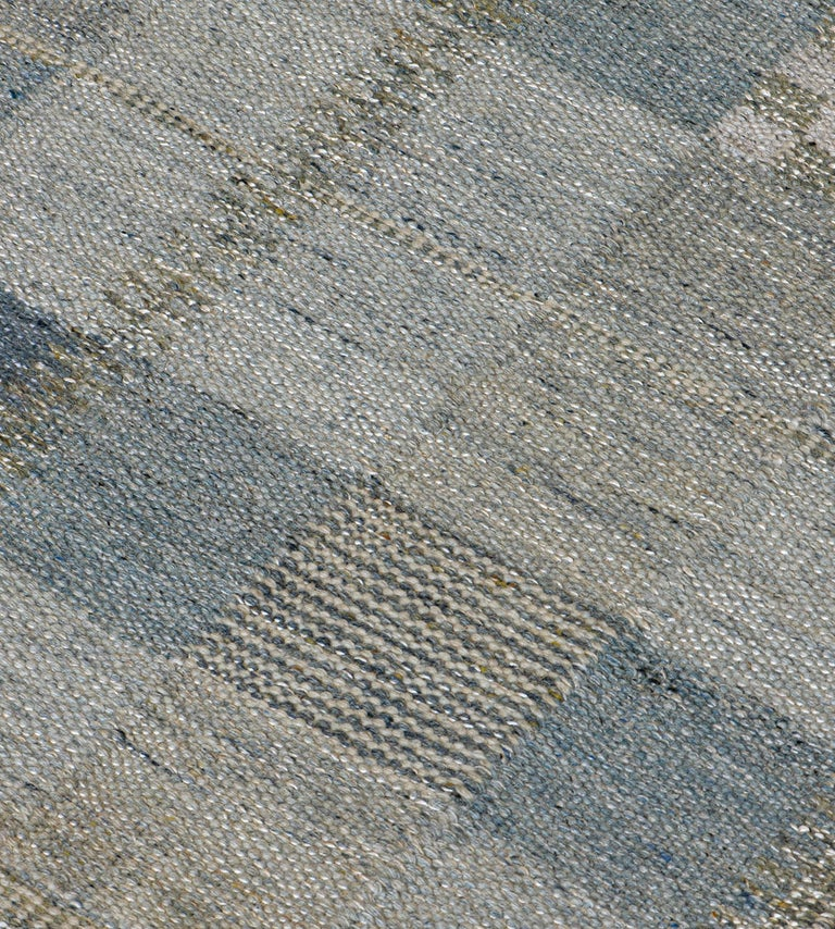 The Mansour modern Swedish collection is primarily inspired by vintage Swedish flat-weave rugs whose geometric designs are relevant as ever in the 21st century. The collection utilizes a number of flat-weave techniques, yielding various unique