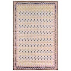 Handwoven Swedish Midcentury Rug