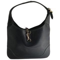 Hermes Marineblaue Handtasche