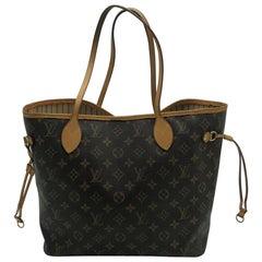 Louis Vuitton Neverfull MM Monogramm Handtasche