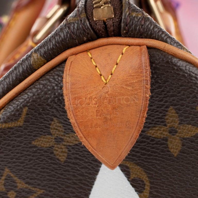 Women's or Men's Handbag Louis Vuitton Speedy 35 Monogram customized