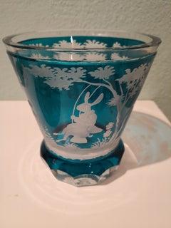 Handblown Crystal Latern Turquoise Easter Decor Sofina Boutique Kitzbühel