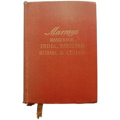 Handbook for Travellers in India, Pakistan, Burma and Ceylon by Lothian, 1955
