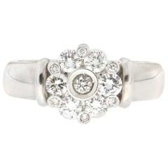 Handcraft Diamonds Platinum Engagement Ring